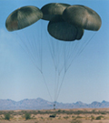 vital paracute G-11 SERIES; Cargo parachute systems, 100-foot diameter